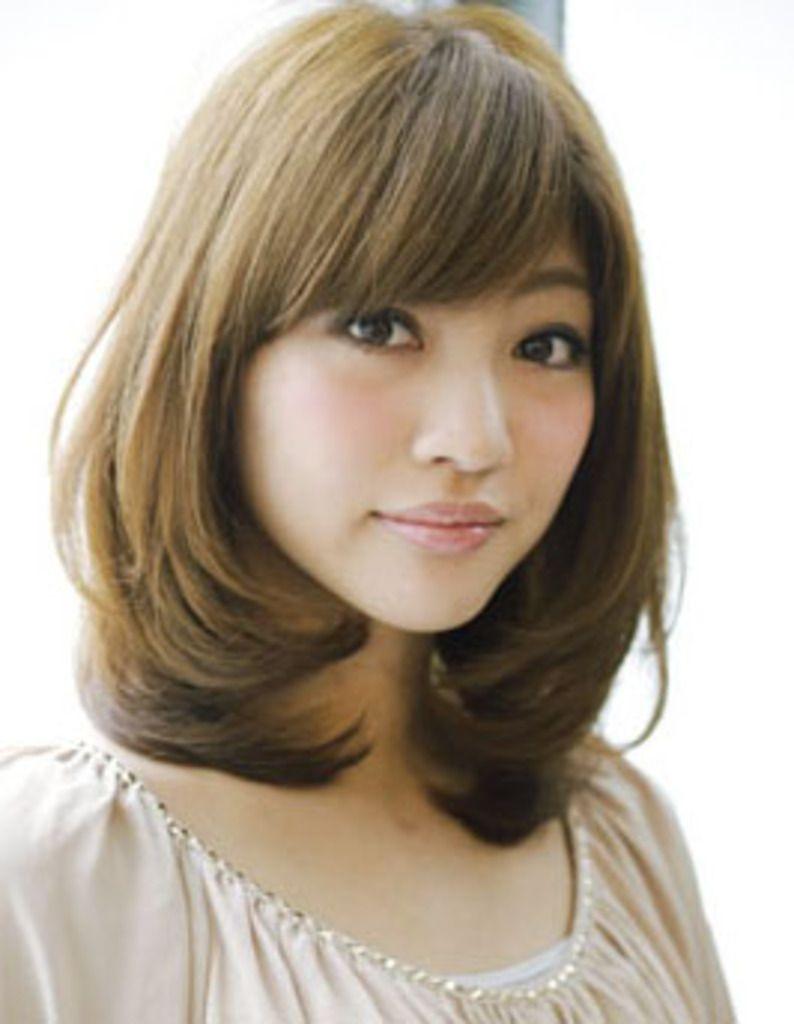 40代の似合う髪型(ヘアスタイル) ミディアムは面長さんにぴったり!