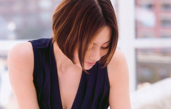 モダンヘアスタイル 30代芸能人髪型 : getbeauty.jp