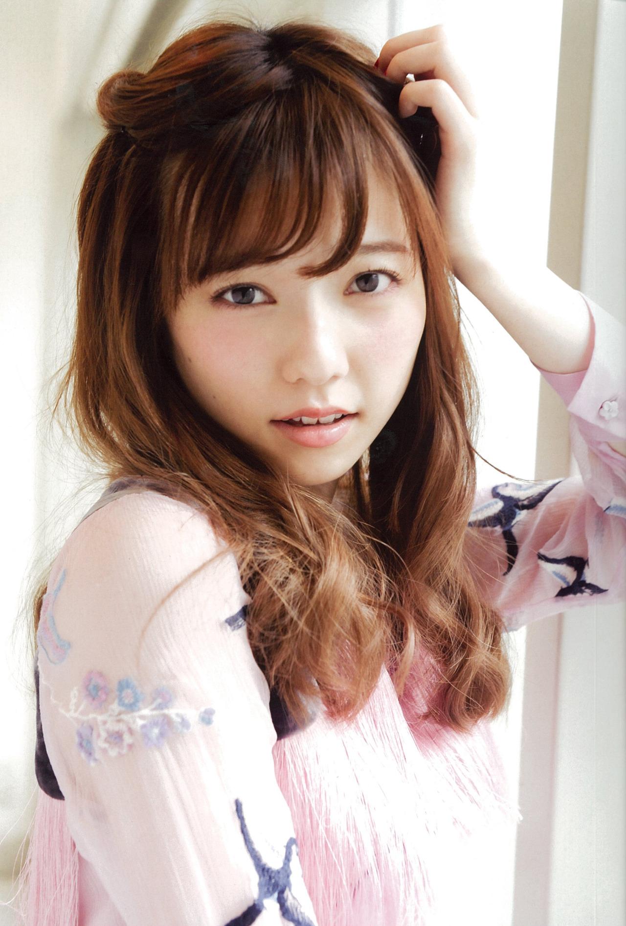 おしゃれな髪型の島崎遥香